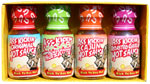 Ass Kickin Hot Sauce Mini Bottle 4 Pack