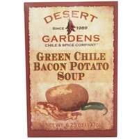 Desert Gardens Green Chile Bacon Potato Soup