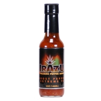 Irazu Volcanic Pepper Ghost Pepper Extreme 70