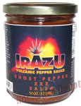 Irazu Volcanic Pepper Ghost Pepper XXX Salsa
