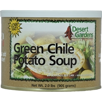 Desert Gardens - Green Chile Potato Soup - 24 Serving Canister