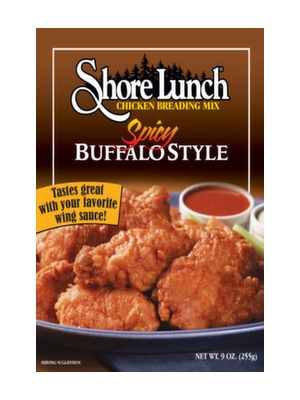Shore Lunch Spicy Buffalo Style Chicken Breading Mix