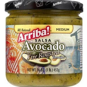 Arriba Avocado Fire Roasted Tomatillos Salsa