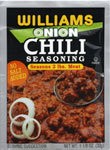 Williams Onion Chili Seasoning For 2 lbs. Meat