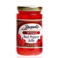 Braswell's Red Pepper Jelly 10.5 oz. Jar