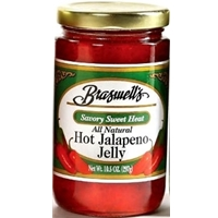 Braswell's Hot Jalapeno Pepper Jelly 10.5 oz. Jar