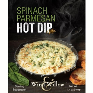 Wind & Willow Spinach Parmesan Hot Dip Mix