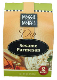 Maggie and Mary's Sesame Parmesan Dip Mix 2 Pack