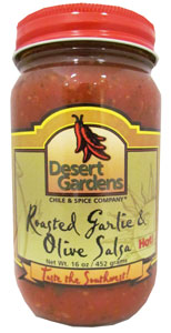 Roasted Garlic & Olive Salsa
