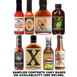 Super Hot Hot Sauce Sampler