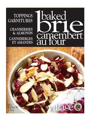 Gourmet du Village Cranberries & Almonds Baked Brie Topping