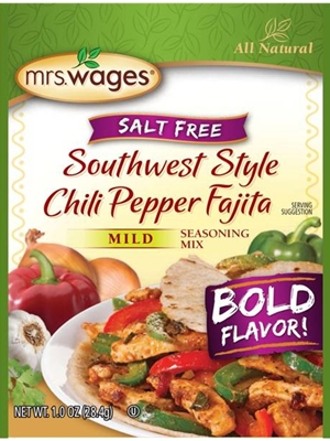 Mrs. Wages Southwest Style Chili Pepper Fajita Seasoning Mix