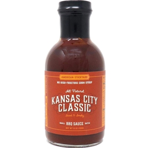 American Stockyard Kansas City Classic BBQ Sauce - 15 oz