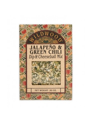 Wildwood Jalapeno & Green Chili Dip & Cheeseball Mix