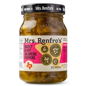 Mrs Renfros Sweet and Hot Sliced Jalapenos
