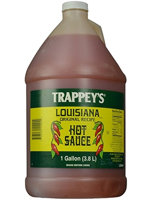 Trappey's Louisiana Hot Sauce - 1 Gallon Size