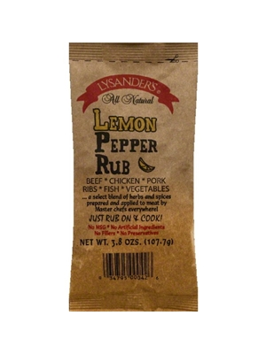 LYSANDER'S Lemon Pepper Rub