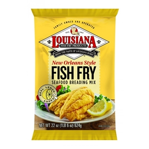 Louisiana Fish Fry New Orleans Style Fish Fry Breading - 22 oz