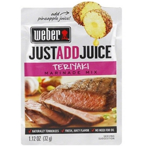 Weber Teriyaki Marinade Mix - Just Add Juice