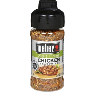 Weber Salt Free Chicken Seasoning - 2.5 oz