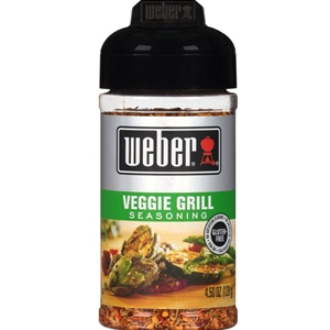 Weber Veggie Grill Seasoning - 4.5 oz