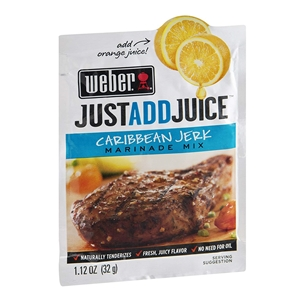 Weber Caribbean Jerk Marinade Mix - Just Add Juice