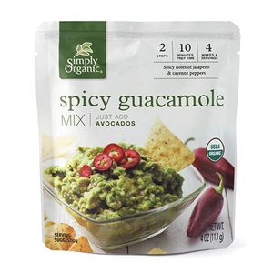 Simply Organic Spicy Guacamole Mix