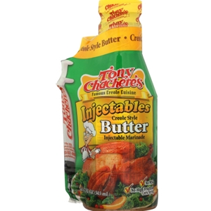 Tony Chachere's Creole Style Injectable Butter and Marinade