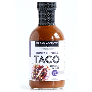 Urban Accents Honey Chipotle Taco Simmer Sauce