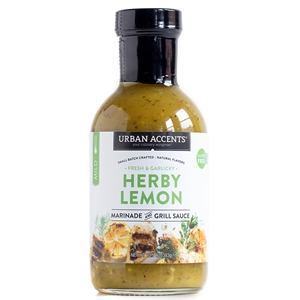 Urban Accents Herby Lemon Marinade & Grill