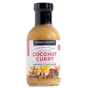 Urban Accents Coconut Curry Marinade & Grill Sauce