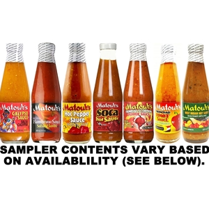 Matouk's Hot Sauce Sampler