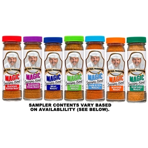 Chef Paul Magic Seasoning Blends Sampler
