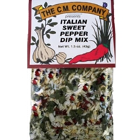 C. M. Company Italian Sweet Pepper Dip Mix