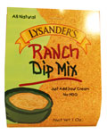 Lysander's Ranch Dip Mix