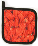 "7"" Chili Pepper Potholder Hot Pad"
