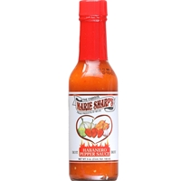 Hot Habanero Hot Sauce 5 oz