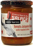 Salpica Tomato Jalapeno Salsa With Roasted Chiles