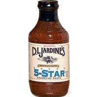 Jardine's 5-Star Barbecue Sauce 18oz.