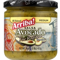 Arriba Salsa Avocado with Fire Roasted Tomatillos