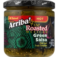 Arriba Mexican Green Hot Salsa