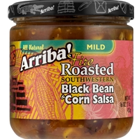 Arriba Black Bean & Corn Salsa