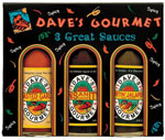 Dave's 3 Pack Hot Sauces