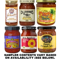 Pineapple Salsa Sampler