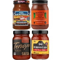 Hot Salsa 4 Jar Gift Set