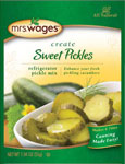 Mrs. Wages Kosher Sweet Refrigerator Pickles Mix