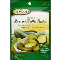 Mrs. Wages Quick Process Bread & Butter Pickles Mix
