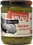 Salpica Salsa Verde With Charred Tomatillo