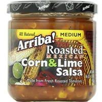 Arriba Fire Roasted Mexican Corn & Lime Salsa