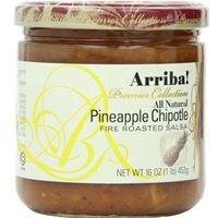 Arriba Premier Collection Pineapple Chipotle Fire Roasted Salsa